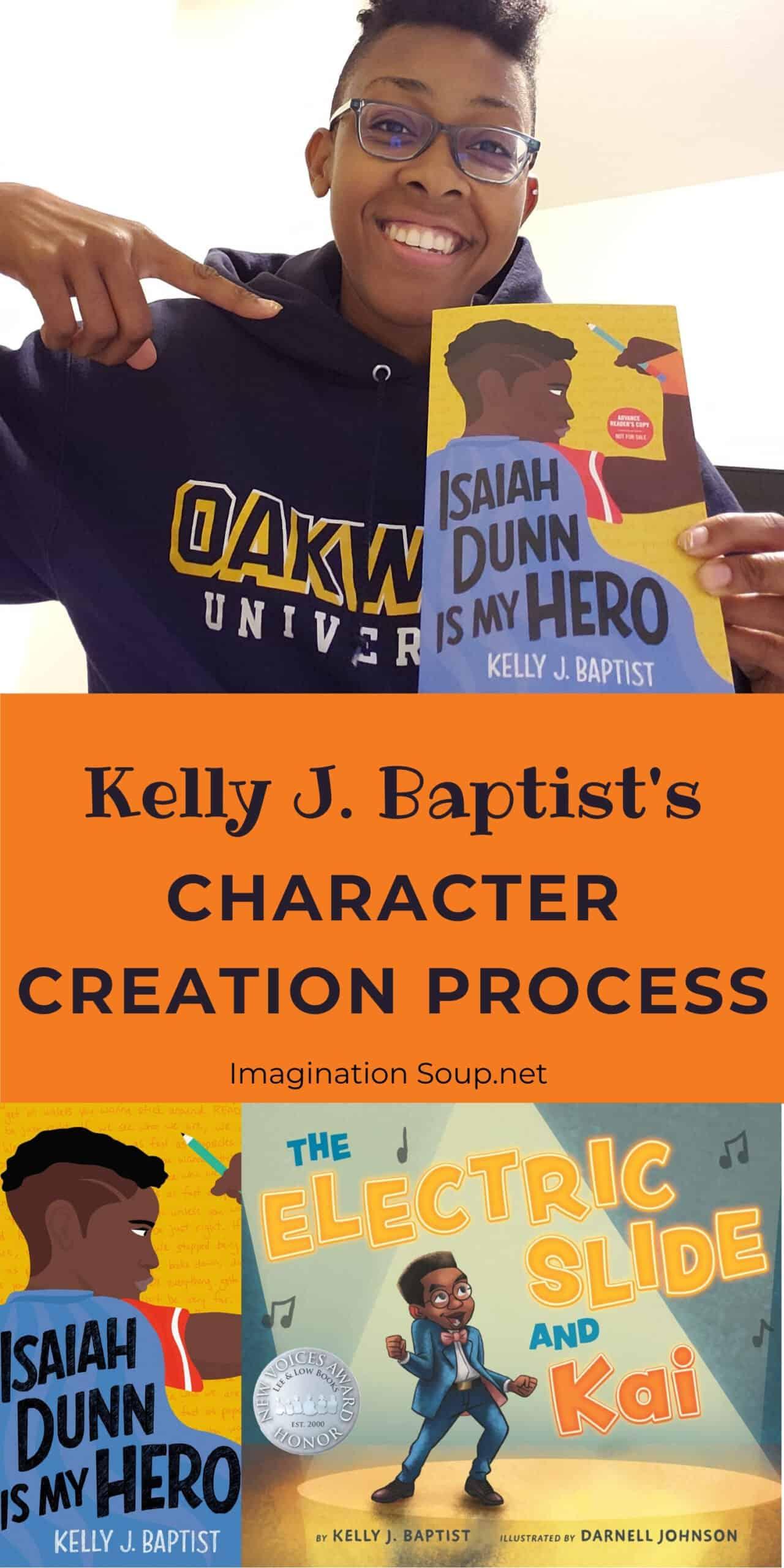 Kelly J. Baptist's writing process