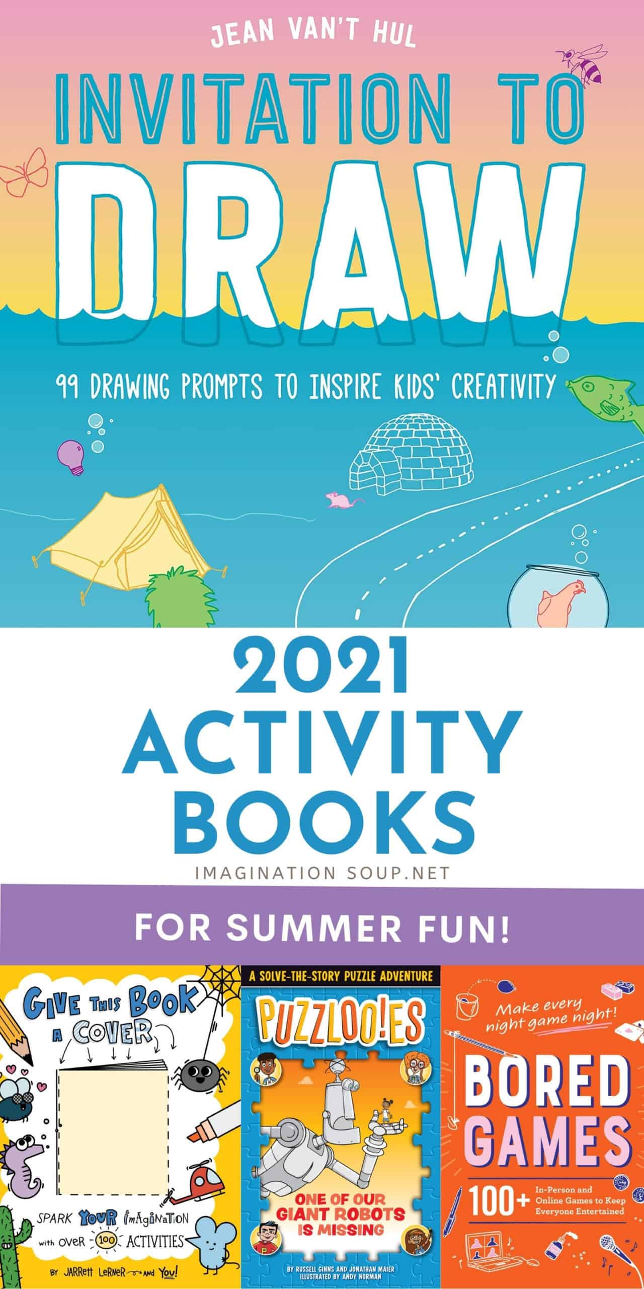 2021 activity books for kids
