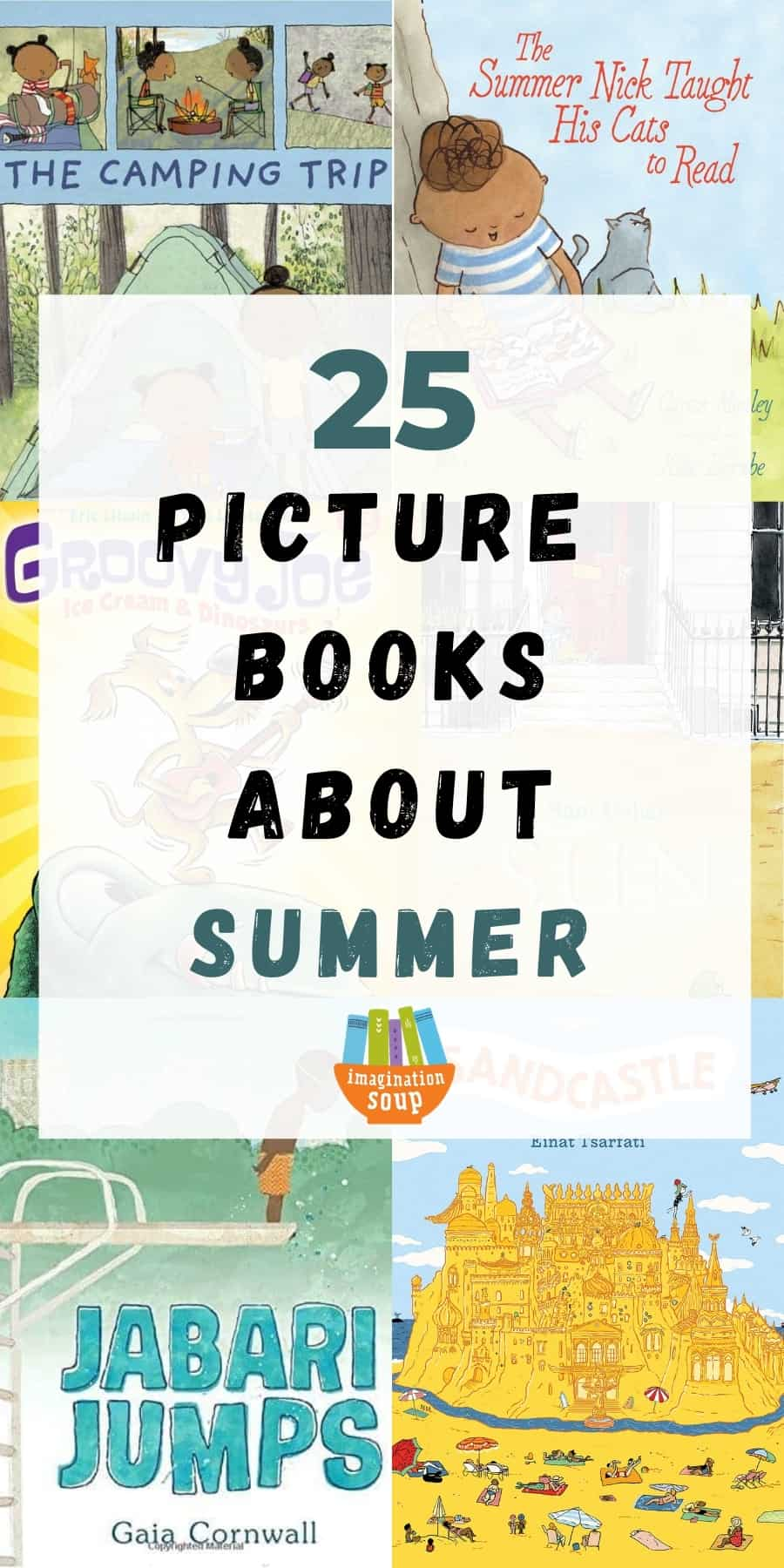 25 picture books about summer