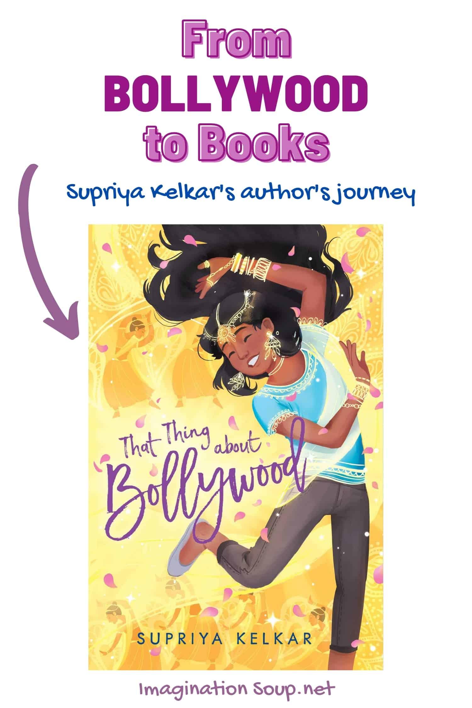 From Bollywood to Books Supriya Kelkar's author's journey