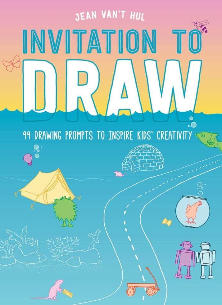 Spark Creativity with Beautiful Invitation to Draw Book
