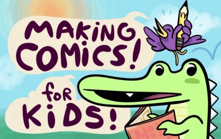 Making Comics for Kids by Shark Summer creator Ira Marcks
