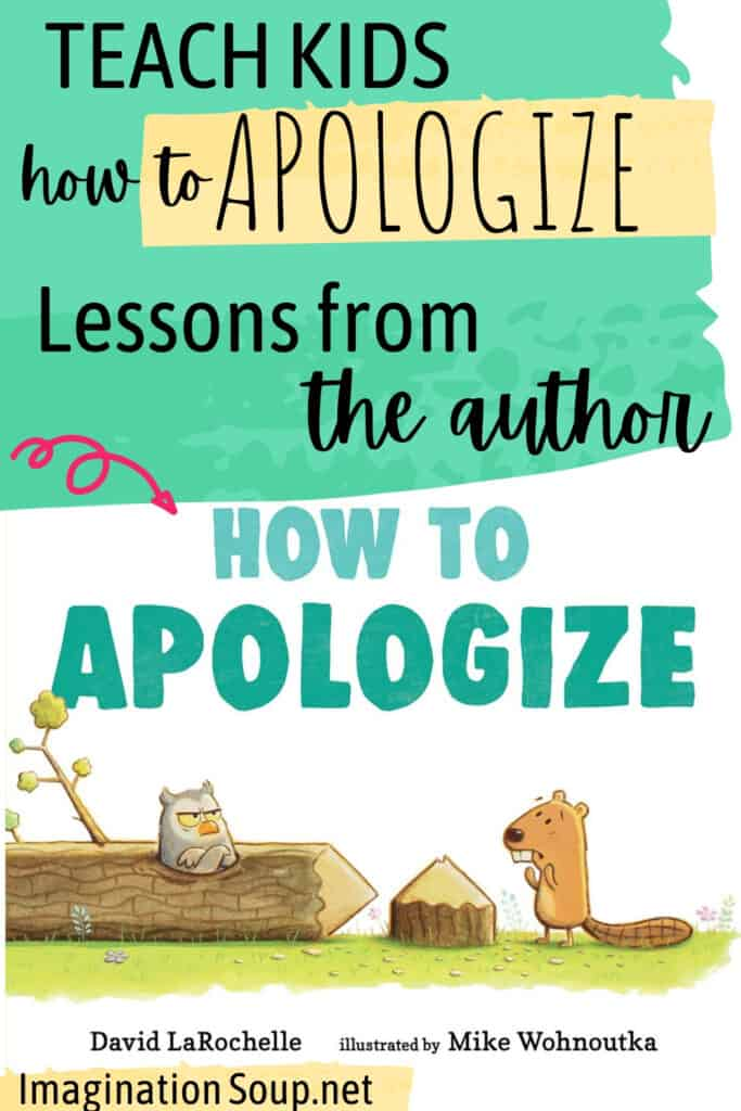 Teach kids how to apologize with a new picture book