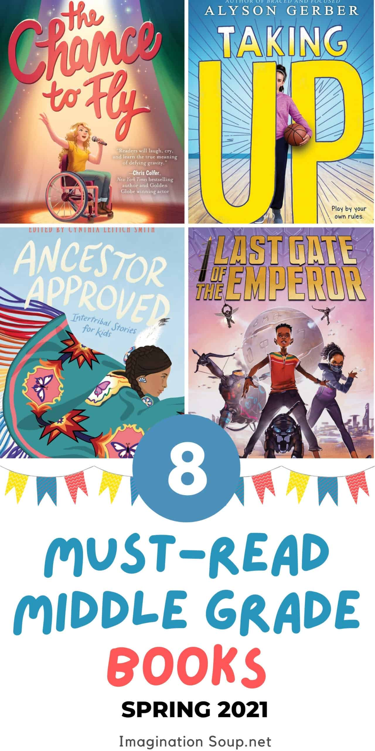 new middle grade books, spring 2021