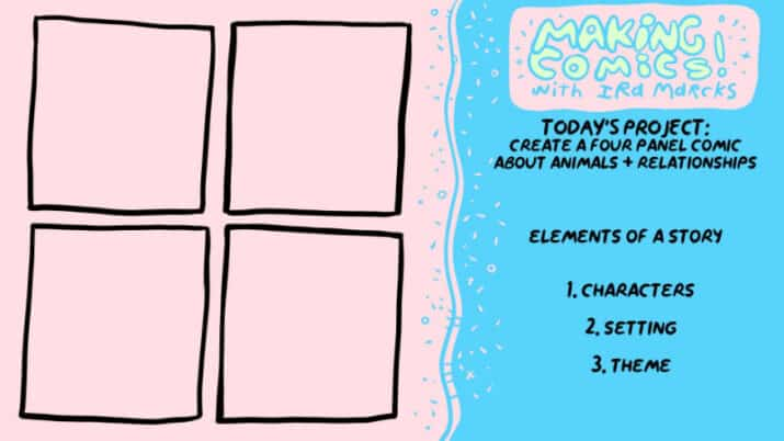 Learn to Make a 4-Panel Comic: A Guide for Kids