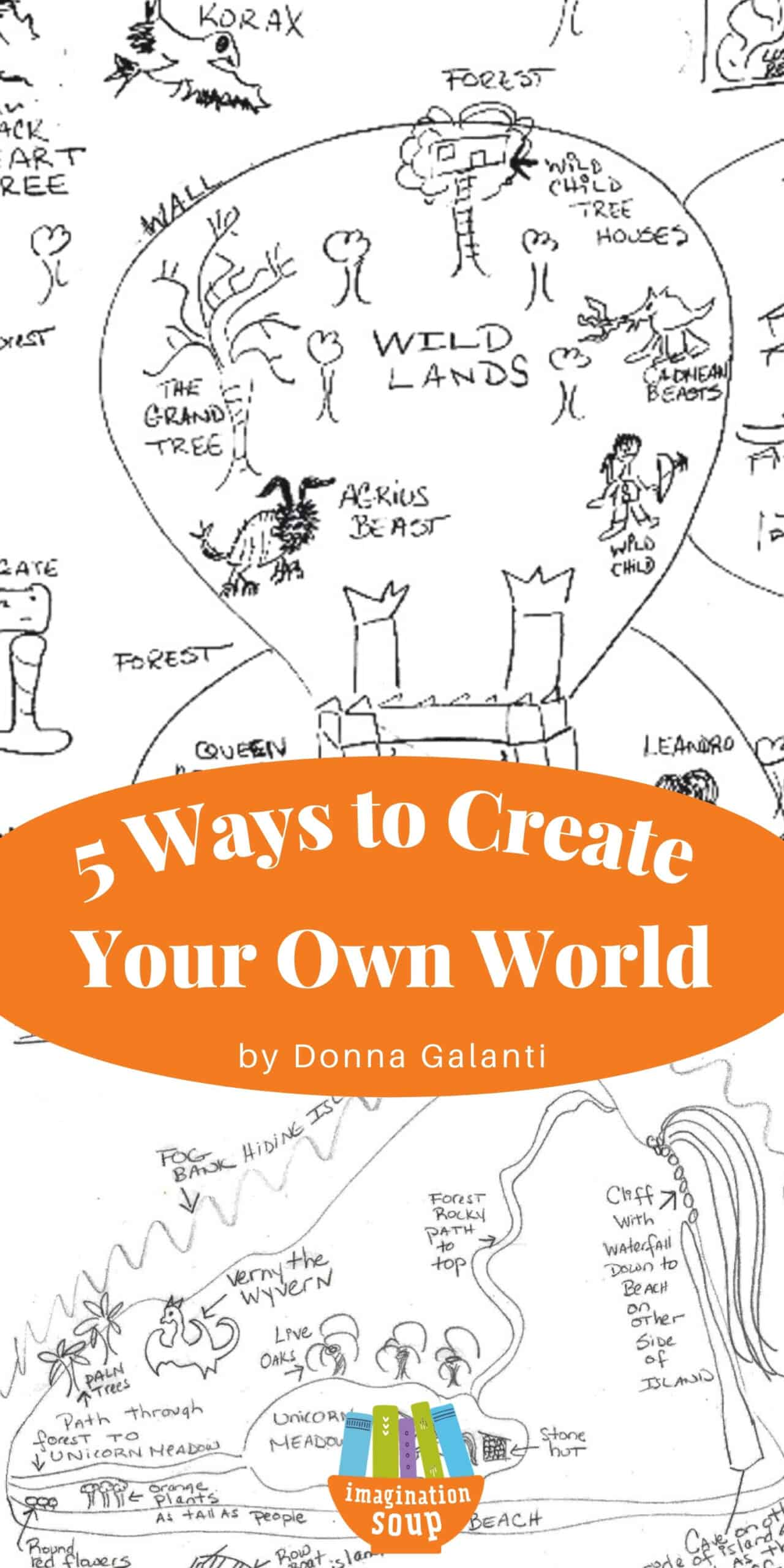 5 Ways Kids Can Create Their Story World