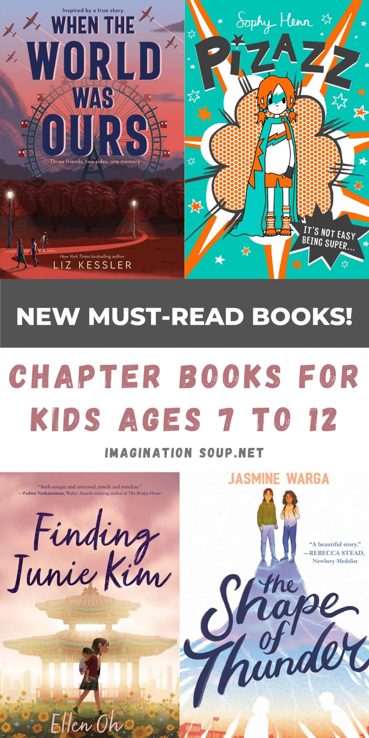 9 New Beginning and Middle Grade Chapter Books, May 2021