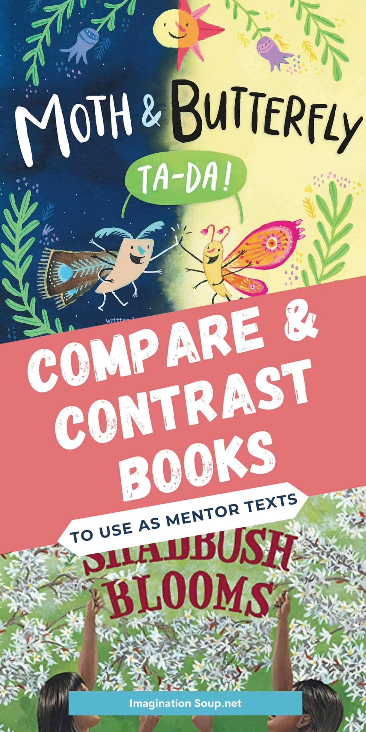 Children's Book Mentor Texts to Teach Compare and Contrast