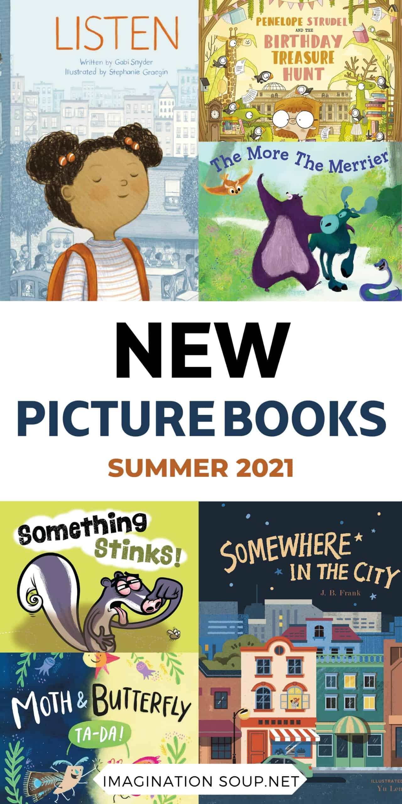 New picture book, July 2021