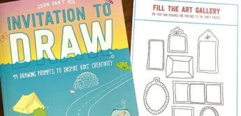 activity book Invitation to draw