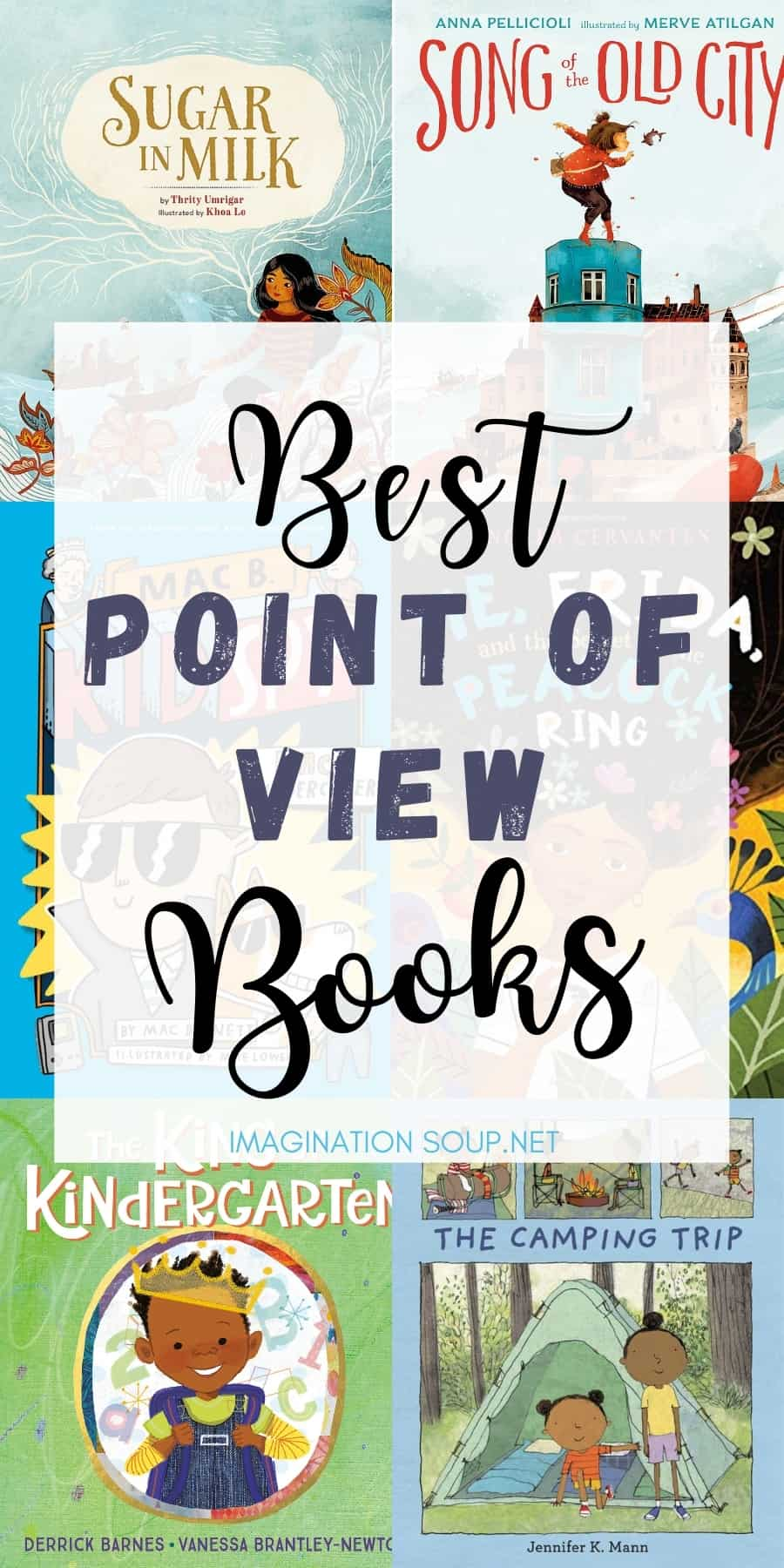 teach point of view with these children's book examples (mentor texts)