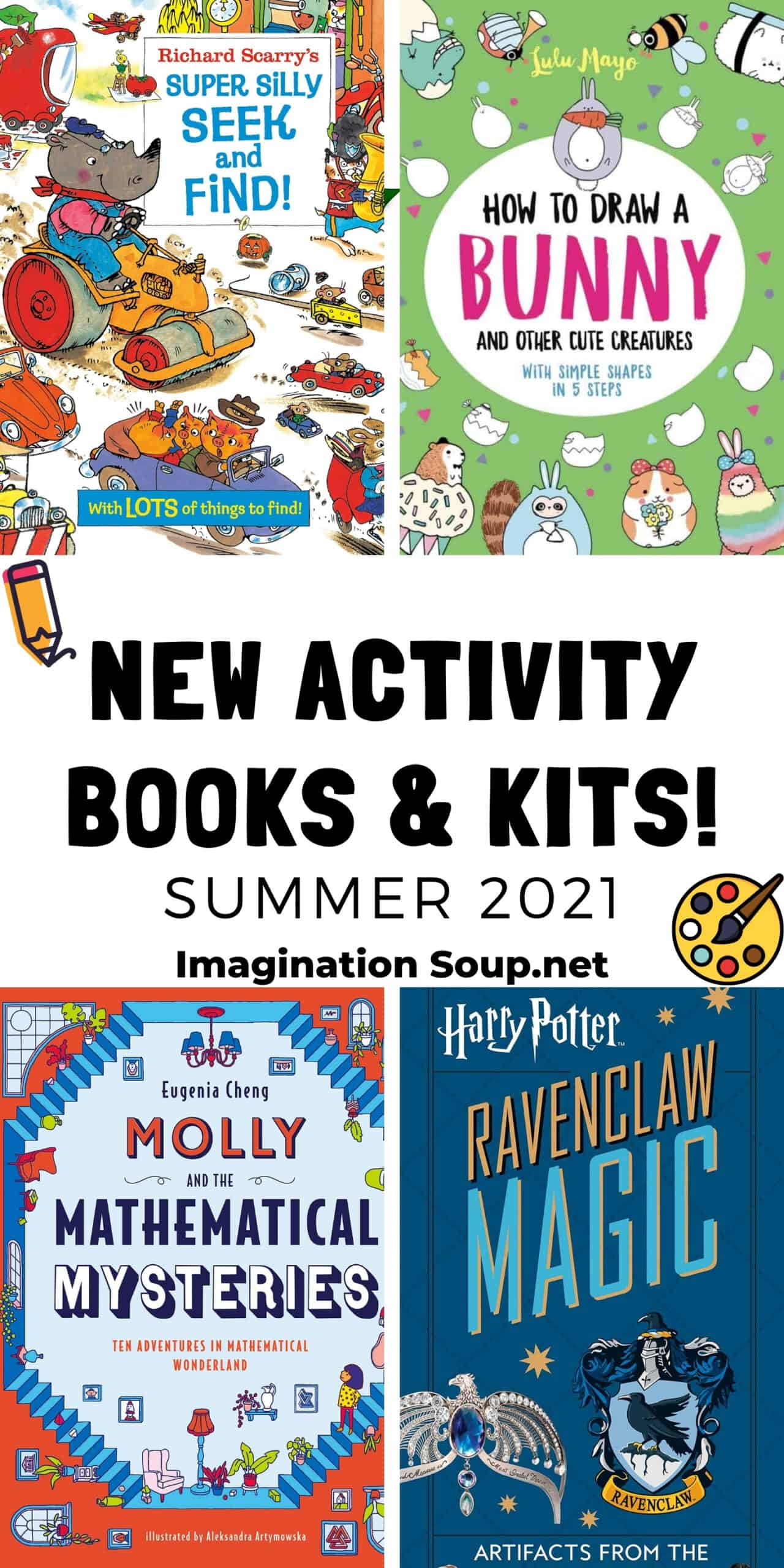 new activity books and kits 2021