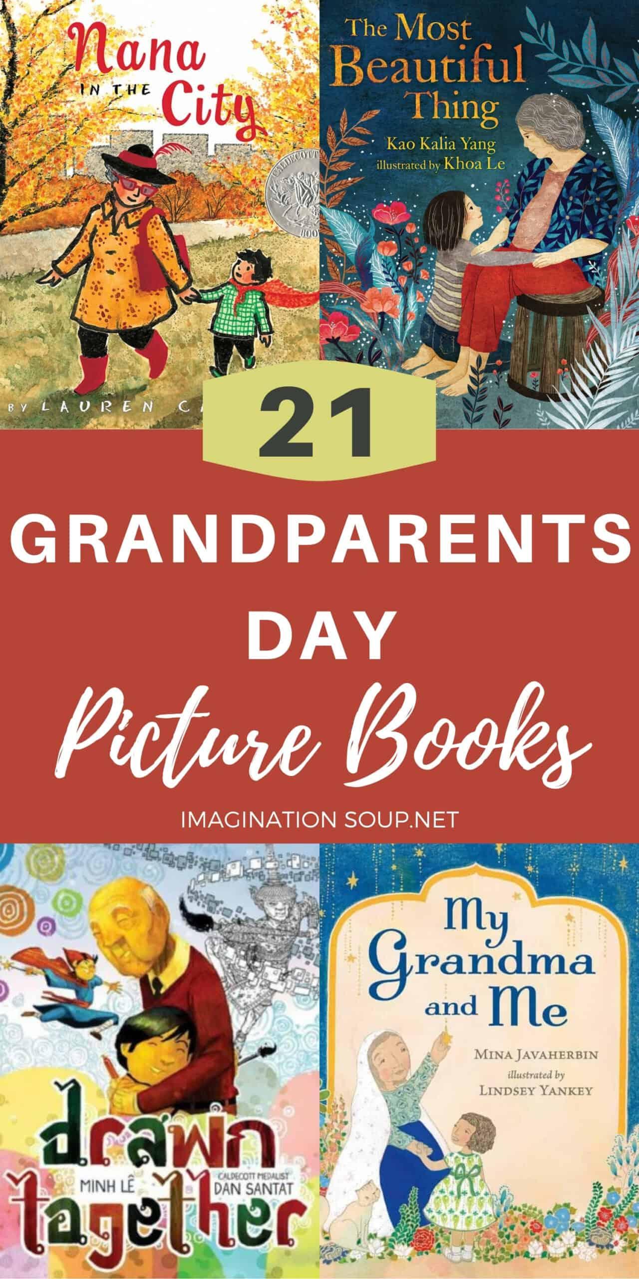21 Grandparents Day Picture Books