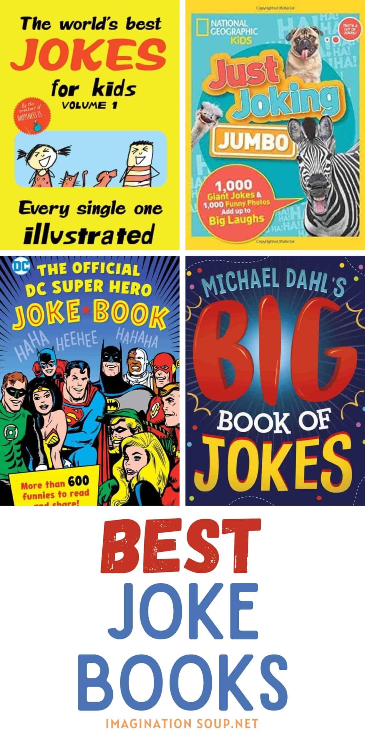 best joke books for kids