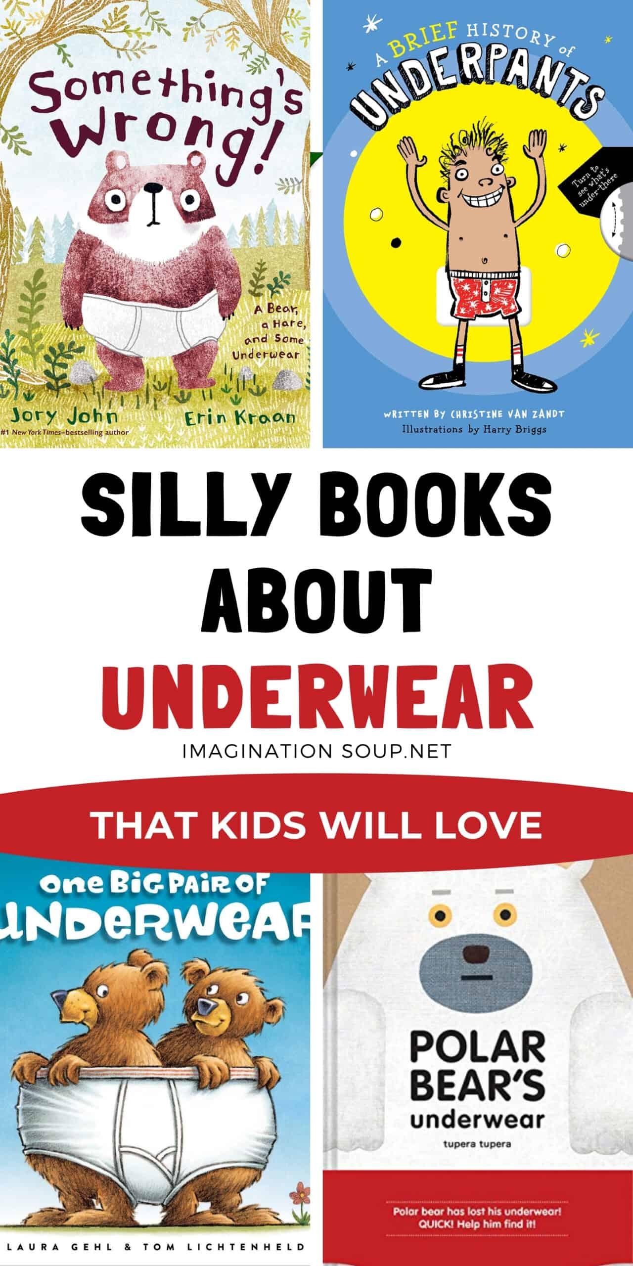Children's Books about Underwear