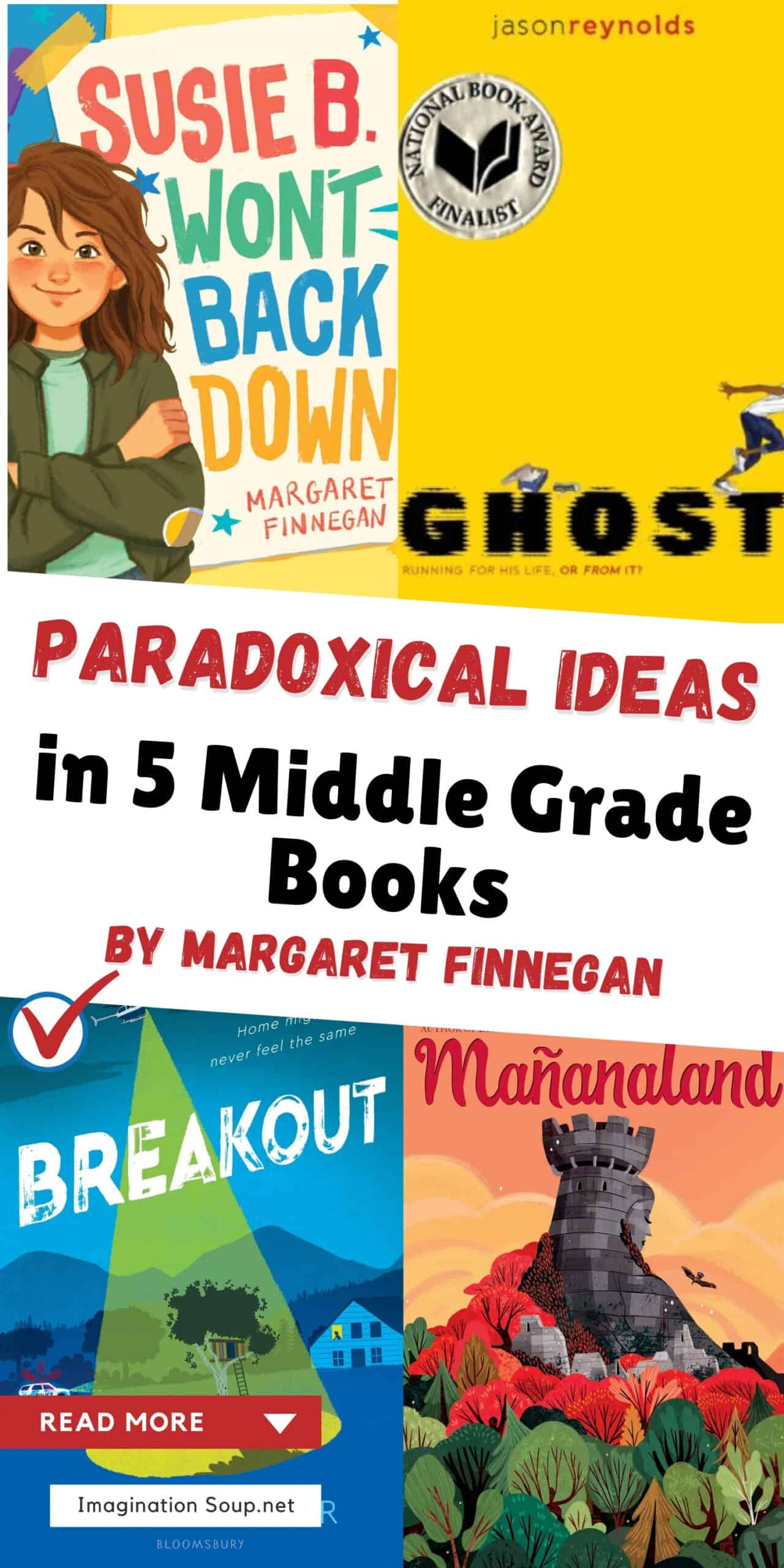 Five intermediate novels that encourage readers to go beyond concrete thinking