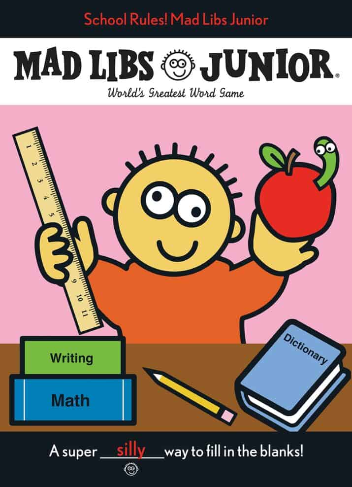 Mad Libs Back to School Book