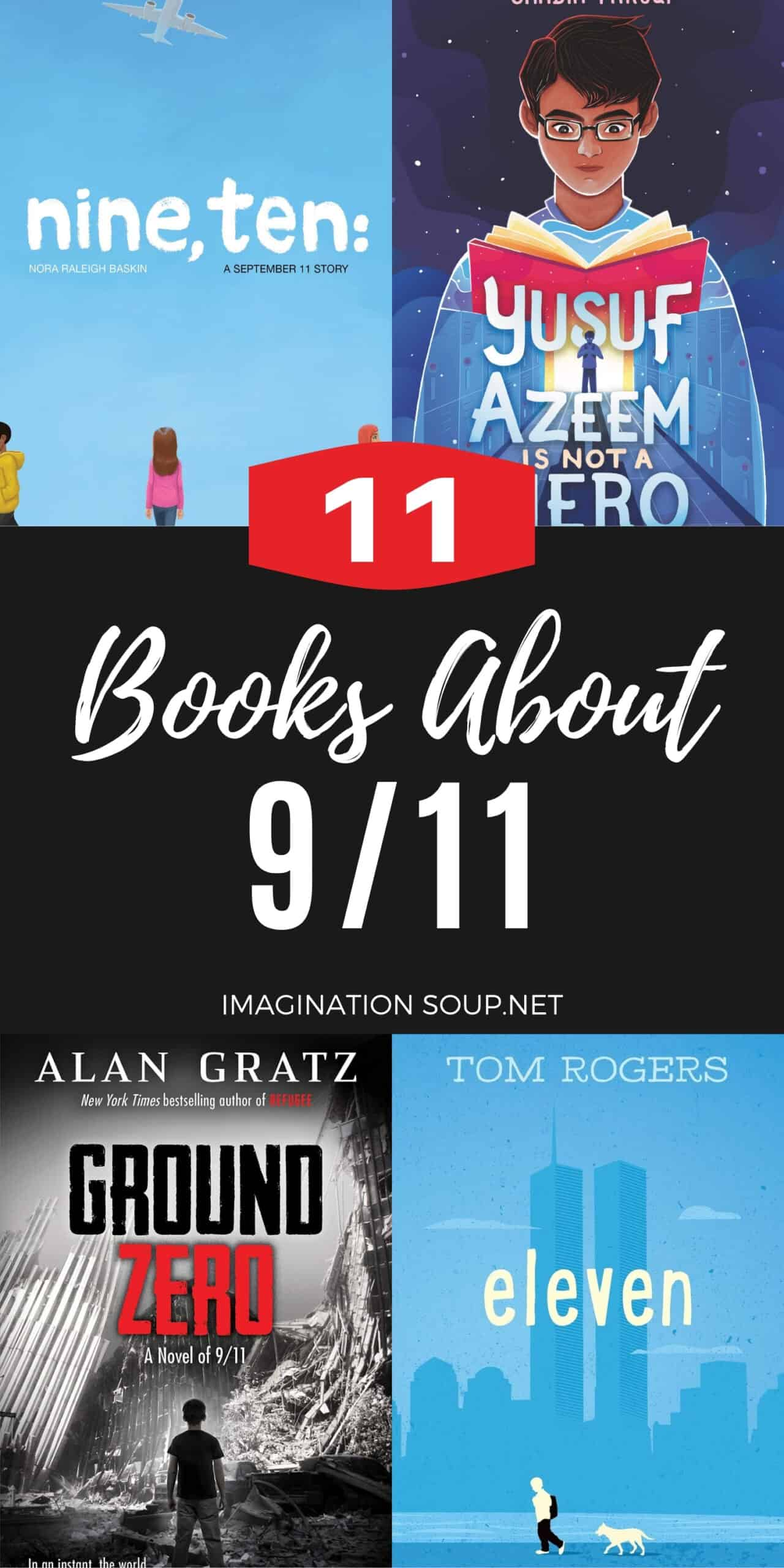 11 Books about 9 / 11 for Elementary & Middle School Kids