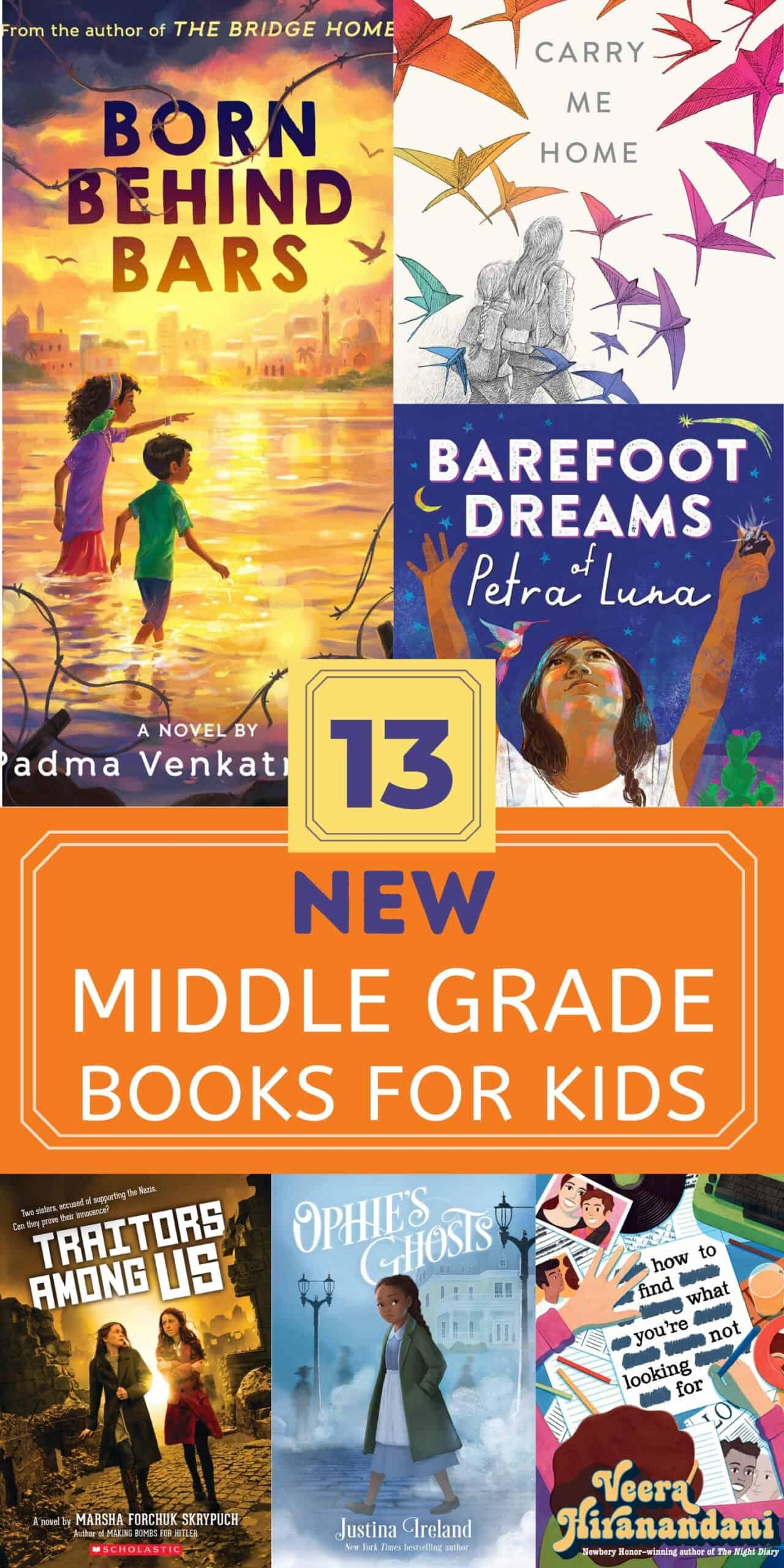 13 New Middle Grade Books, September 2021