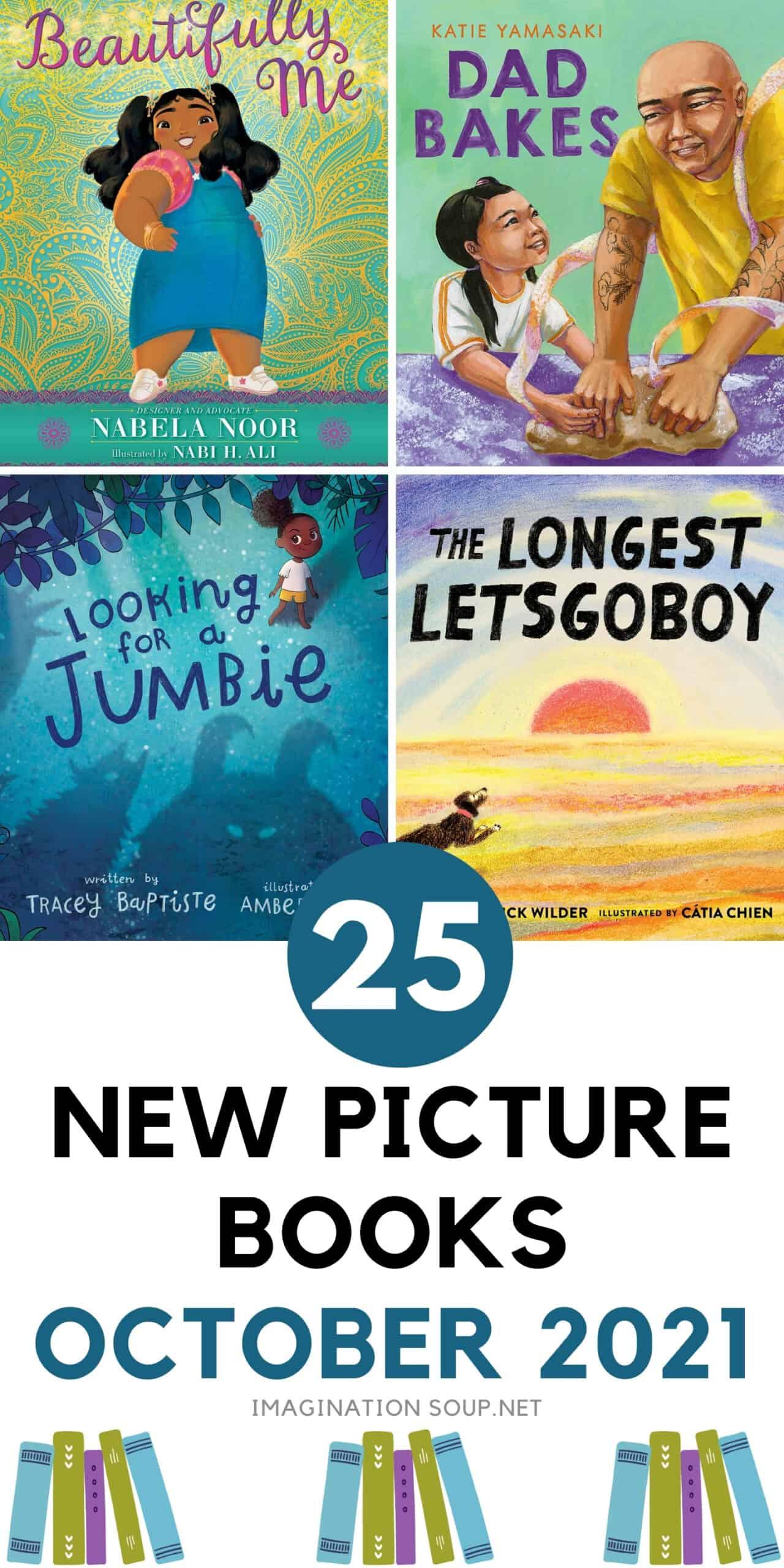 25 new picture books 2021