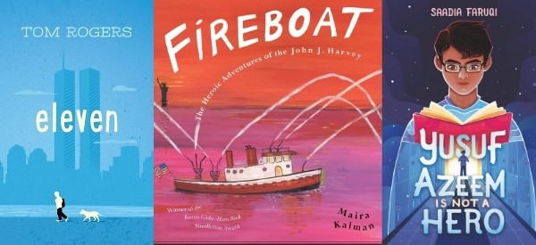 9/11 books for elementary and middle school students