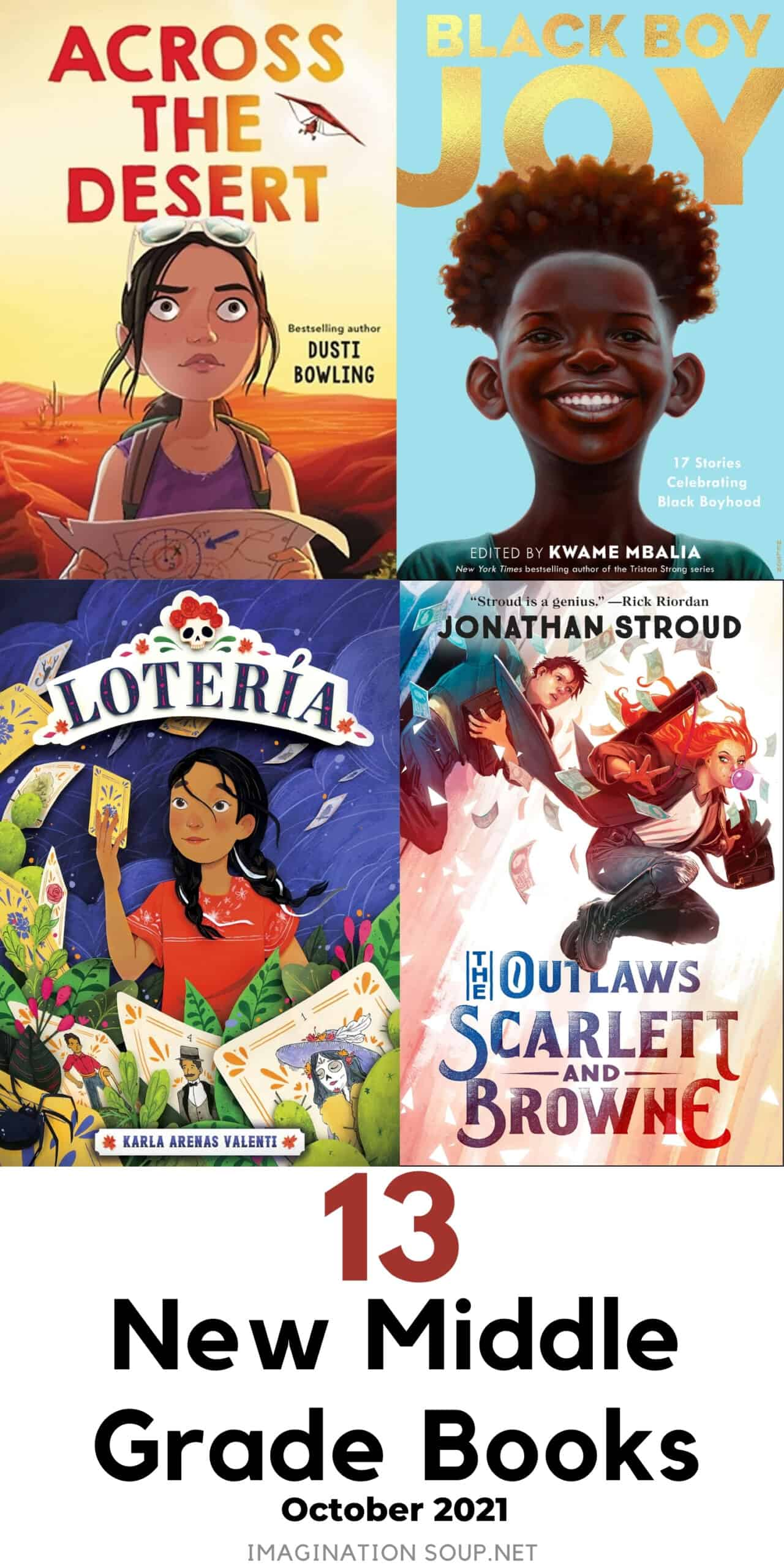 13 new middle grade books, October 2021