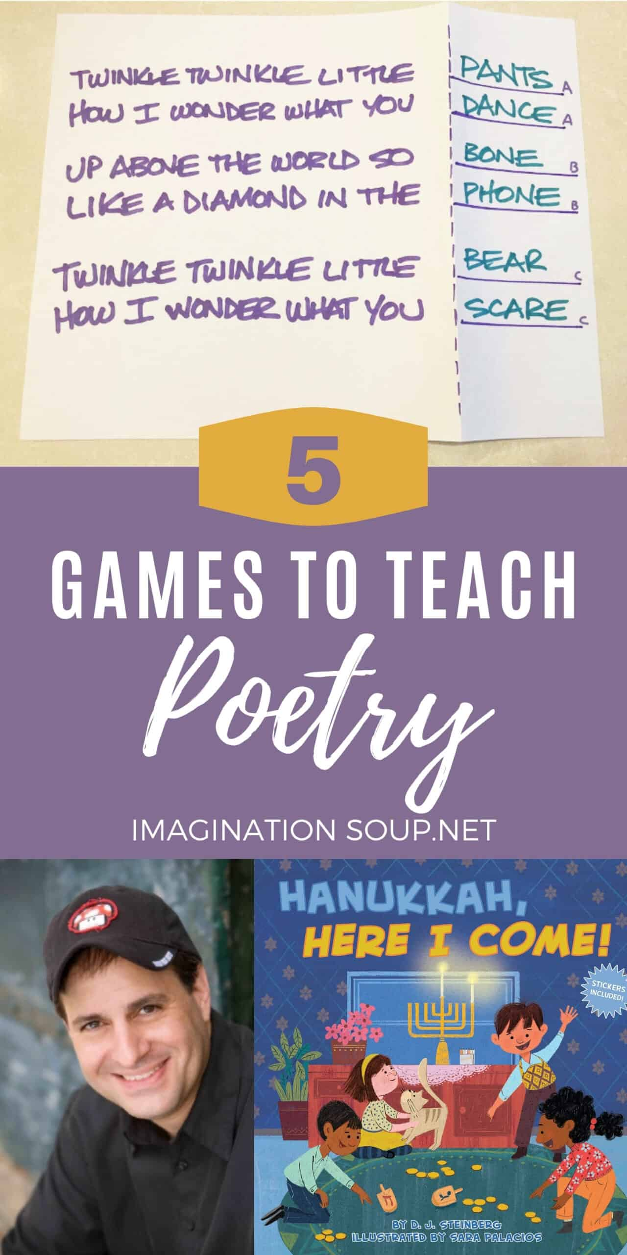 Rhyme Time! 5 Games to Teach Poetry