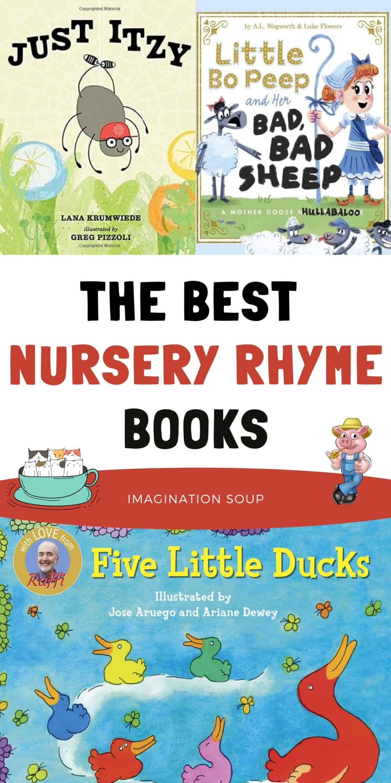 the best nursery rhymes books
